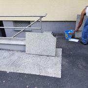 diverse Granitplatten