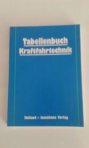 Tabellenbuch Kraftfahrtechnik