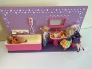 Vintage Puppenhaus Badezimmer top Zustand