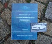 Betriebsanleitung AWE Wartburg 311 1962