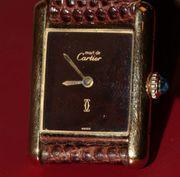 Cartier Damenuhr auch Tausch gegen
