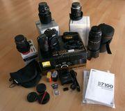 Nikon D7100 4 Objektive und