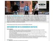 Mitarbeiter im E-Commerce m w