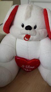 Großer Plüsch Teddybär
