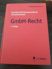 Gmbh-Recht 7 Auflage