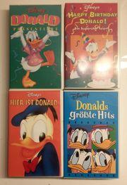 4 DISNEY Filme VHS kaum