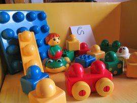 Spielzeug: Lego, Playmobil - Lego Primo G Platte Frosch
