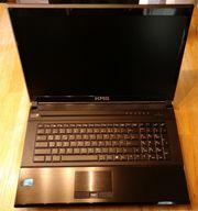 Gaming-Laptop Spiele-Notebook Schenker 17 i7-Quad