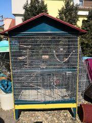 Große Vogelvoliere