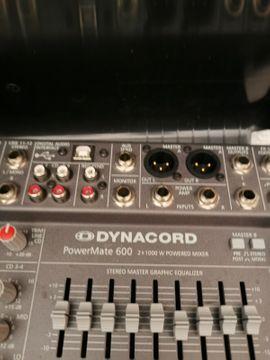 PA, Licht, Boxen - Powermate 600 - PM600-2 x 1000