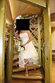 Brautkleid Hochzeitskleid Größe 36 cremeweiß