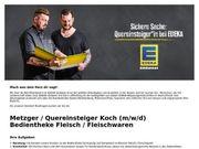 Metzger Quereinsteiger Koch m w