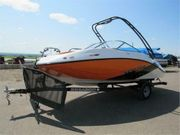 Sea Doo Motorboot und Anhänger