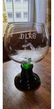 ca 1-2L Weinglas DLRG - sehr selten