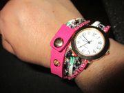 tolle neue armband - uhr pink