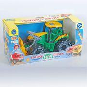 Lena Starke Riesen Traktor mit
