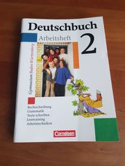 Deutschbuch Arbeitsheft 2 Gymnasium Baden-Württemberg