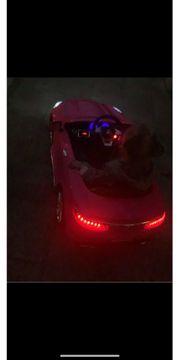 Elektroauto Kinder pink