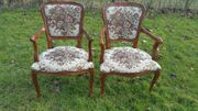 2 Antike Chippendale Stühle Essstühle