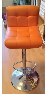 Barhocker Orange