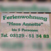 Ferienwohnung Ferienhaus Haus Annette