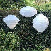 Lampion Spezial Papierlaternen Hochzeit deko