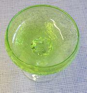 Glas Schale GRÜN