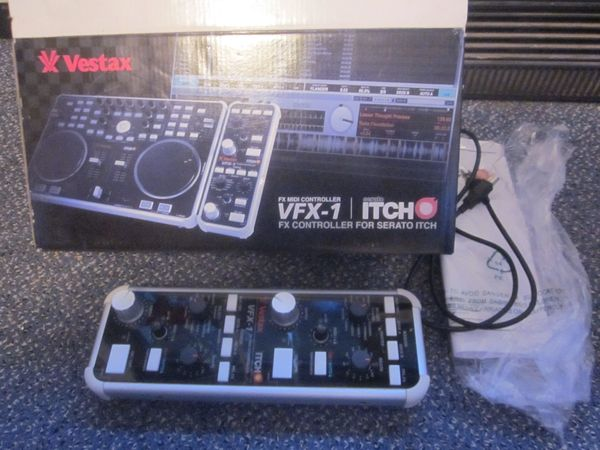 Vestax VFX-1 Effektgerät * TOP! * (für VCI-300 & Serato Software)