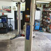 Mechanische Hebebühne Werkstatt