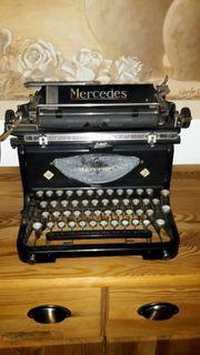 Mercedes Schreibmaschine von Zella Mehlis