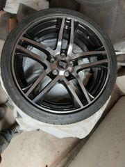 Alu- Felgen inclusive Reifen neu