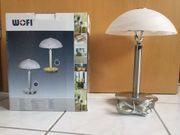 Wofi Bristol - Tischlampe Nachttischlampe Tischleute