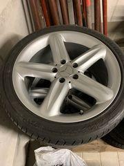 Mercedes SL Felgen guter Zustand