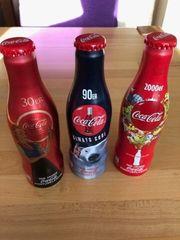 100 Jahre Coca-Cola Konturflasche Aluminium