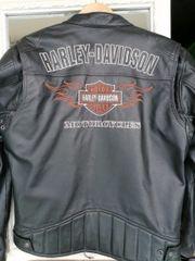 Verkaufe Männer Harley Davidson Lederjacke