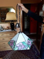 Sehr schöne gebrauchte Hängelampe Deckenlampe