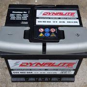 Dynalite Autobatterie Starterbatterie 12V 44Ah