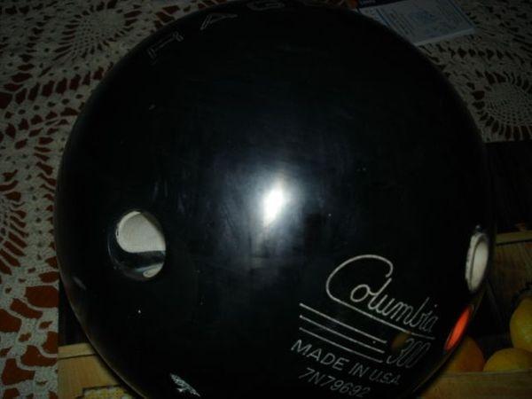 Bowlingkugel COLUMBIA Rage + Bowlingtasche