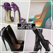 Pflege der High Heels auf