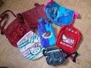 Verschiedene Damen Kinder Taschen Rucksäcke