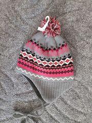 Mädchen Mütze neu Gr 50