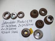 Werkzeug Zahnräder Modul 1 75
