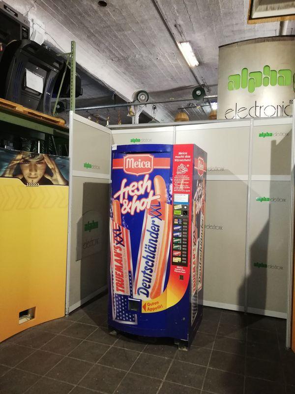 Würstchenautomat Meica Fresh Hot Warenautomat