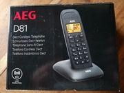 AEG D81 Schnurlos-Telefon