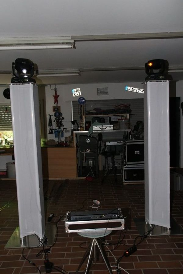 Moving Head-Tower-Set 2m 2 St