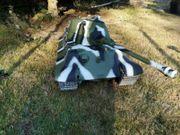 Panzer Modell im Maßstab 1