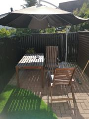 Ikea äpplarö Gartenmöbel gut erhalten
