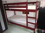 Etagenbett inkl 2 Matratzen - Bett -