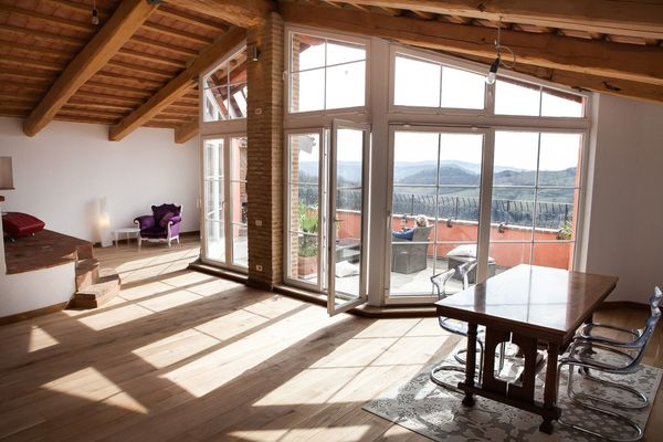 140 m² Penthouse Maremma Toskana