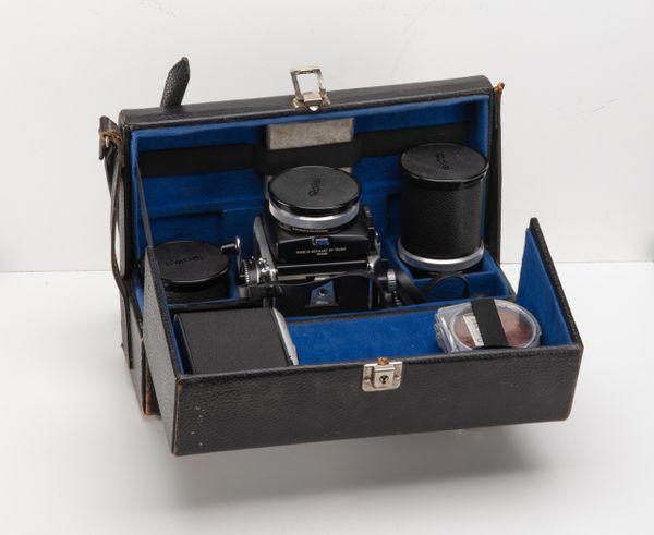 Rolleiflex Kameraset für Liebhaber